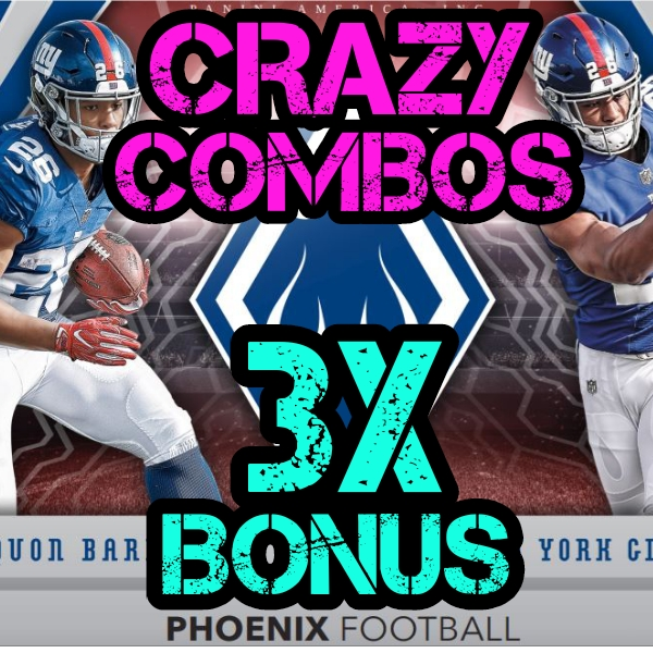 ce5dd972909 NEW 2018 PANINI PHOENIX FOOTBALL 8 BOX CASE BREAK  2 – RANDOM TEAMS + CRAZY  COMBOS + FREE SPOT + GRADED CARD GIVEAWAY!