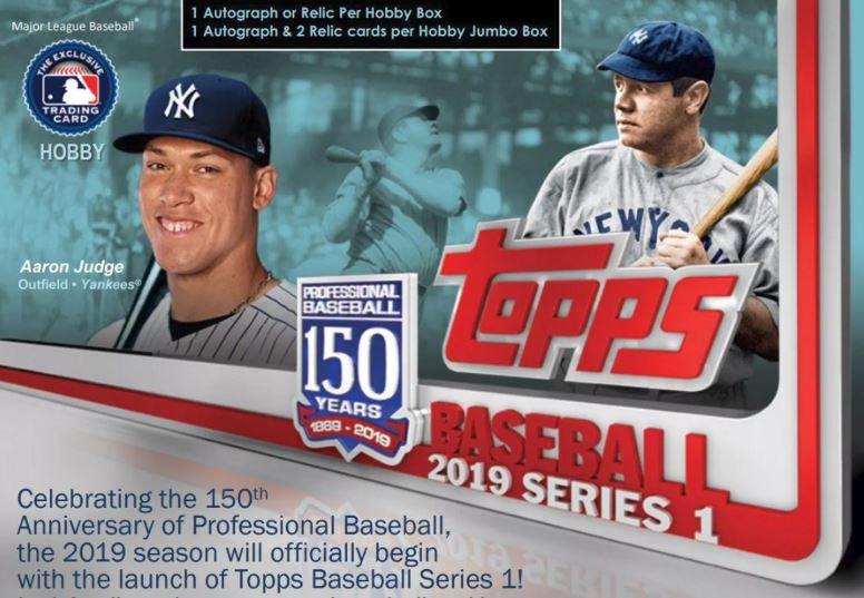 2019 Topps Series 1 Baseball 6 Box Jumbo Case Break 2 Random Teams Free Spot Giveaway 12 Silver Packs Bonus Read Shipping Details